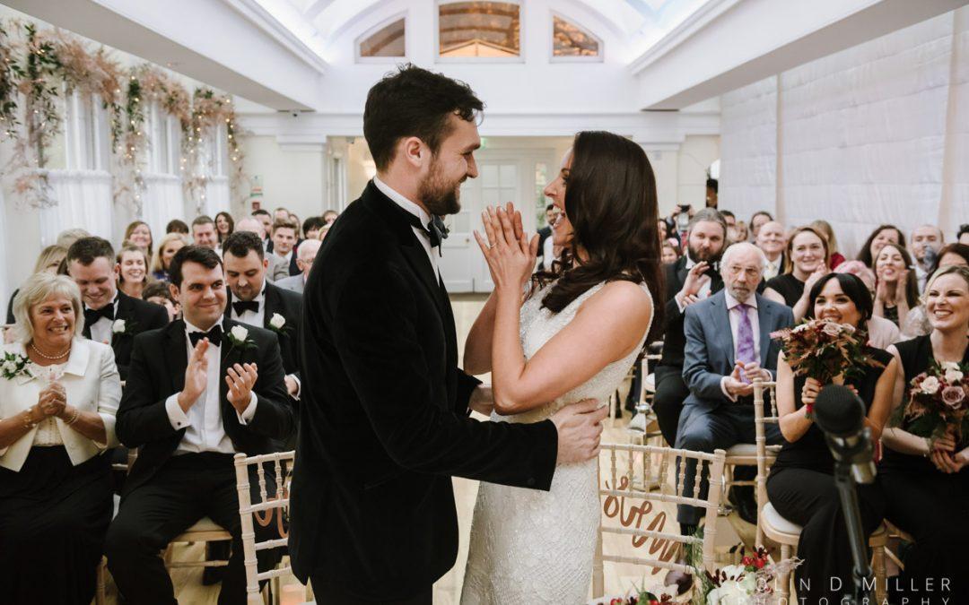 Nicole and Nick at Pembroke Lodge