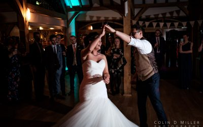 Natalie and James' first dance