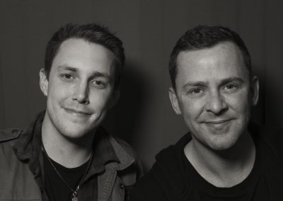 Scott Mills and Chris Stark