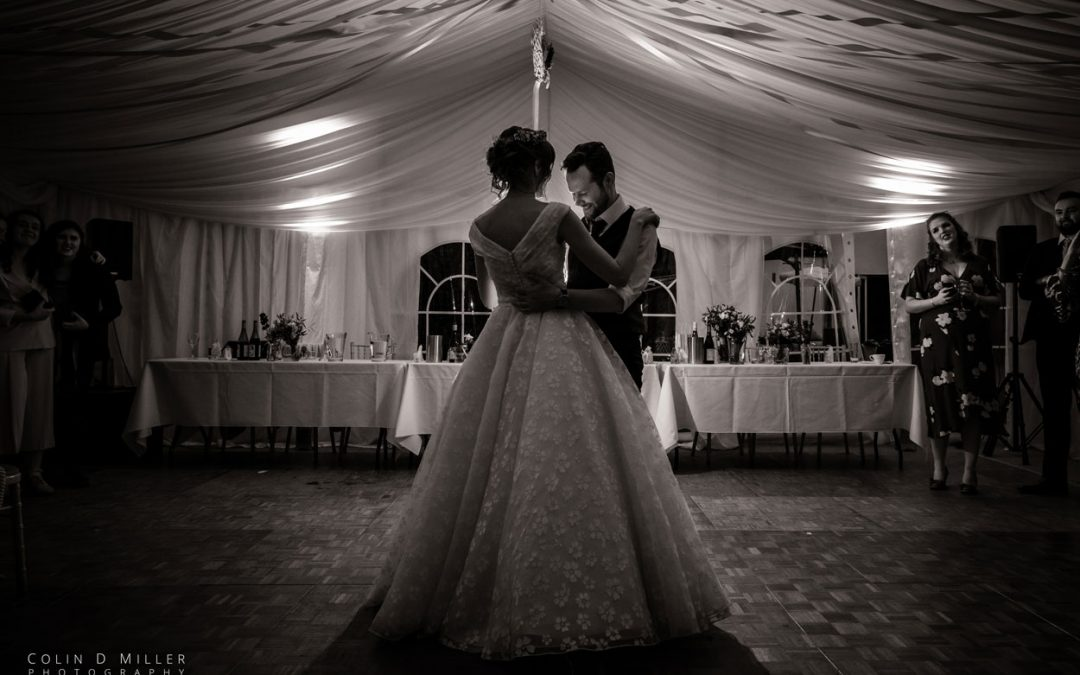 Charlotte and Chris's First Dance