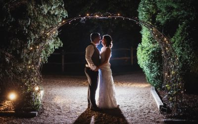 Megan and James' wedding at Brookfield Barn