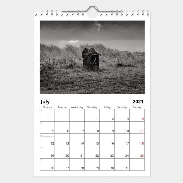 Edge of Nowhere Calendar 2021